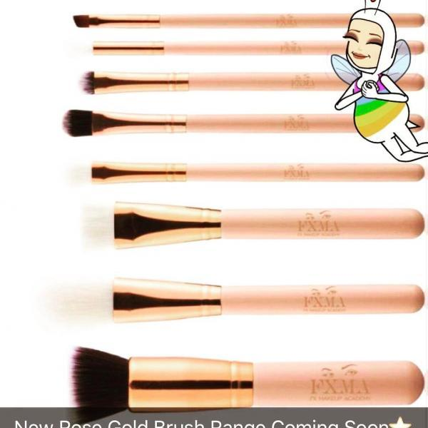 Rose Gold Brushes
