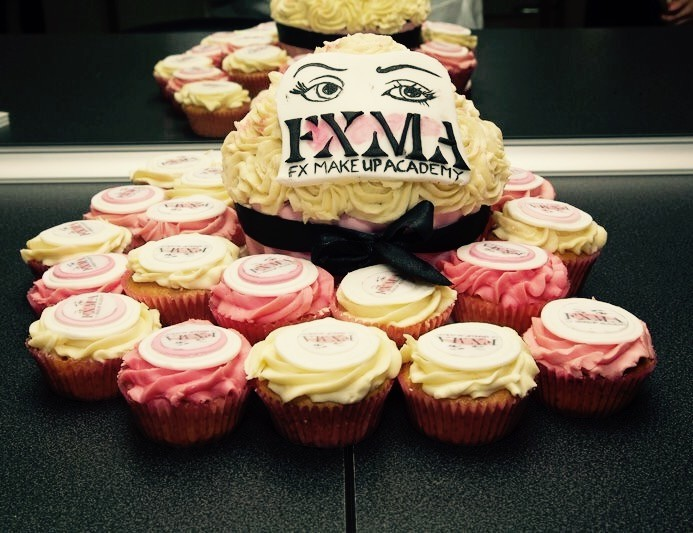 FX MAkeup Academy Launch in BAlbriggan Cakes!