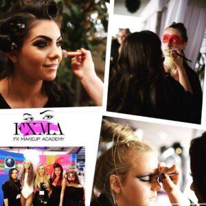 example of makeup application course Dublin