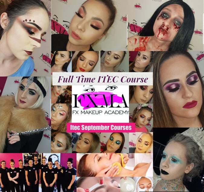 FULL-Time Makeup and Beauty Course.. Sep 2019!!