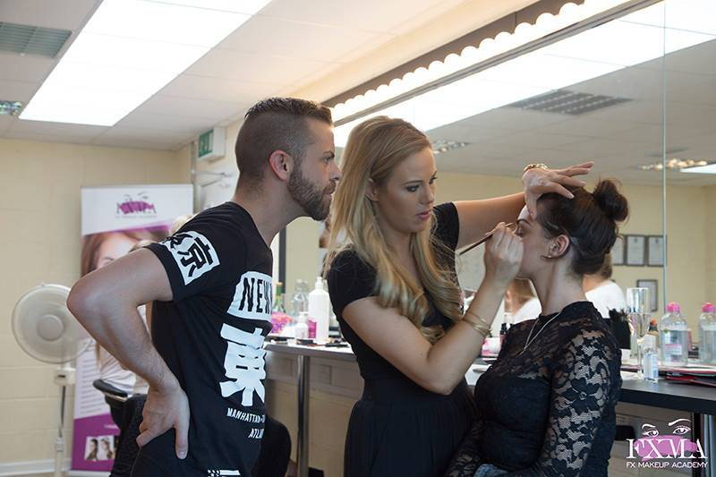 FX One Day Workshop Dublin Makeup Lessons Become your own makeup artist makeup course Dublin