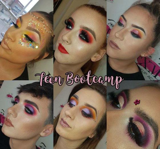 Teen Bootcamp Makeup Course