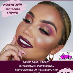 Makeup Masterclass with ellie kelly