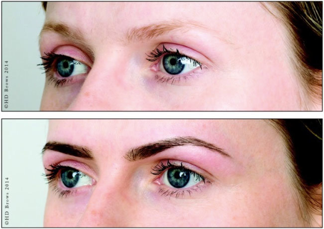 Eye Lash Lifting and HD Brows - YouTube